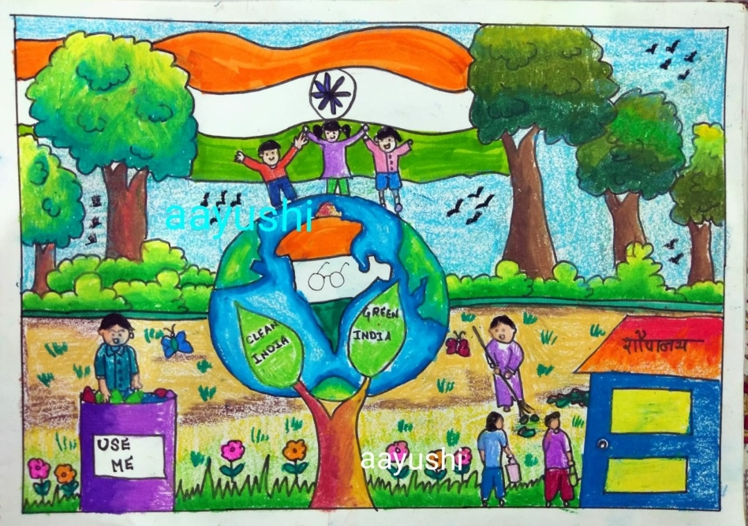 India As I See Painting Poetry Drawing Contest Essay